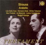 STRAUSS - Kempe - Arabella, opéra op.79
