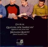 DVORAK - Jerusalem Quart - Quatuor à cordes n°12 en fa majeur op.96 B.17