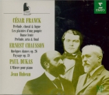 FRANCK - Hubeau - Prélude, choral et fugue, pour piano en si mineur FWV