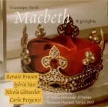 VERDI - Sass - Macbeth : extraits (Live Torino, 24 - 11 - 1977) Live Torino, 24 - 11 - 1977