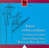 HONEGGER - Penkov - Sonate pour alto et piano H.28