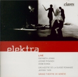 STRAUSS - Tate - Elektra, opéra op.58 (live Geneva, 10 - 3 - 1990) live Geneva, 10 - 3 - 1990