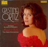 GRANADOS - Ortiz - Goyescas, suite pour piano