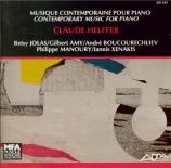 Musique contemporaine pour piano