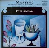 MARTINU - Kaspar - Fantaisie