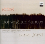 GRIEG - Järvi - Quatre danses symphoniques op.64