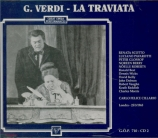 VERDI - Cillario - La traviata, opéra en trois actes live London, 25 - 3 - 1965