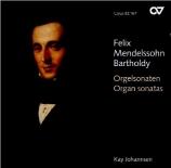 MENDELSSOHN-BARTHOLDY - Johannsen - Sonate pour orgue n°1 en fa mineur o