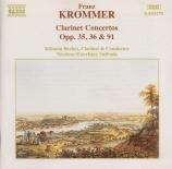 KROMMER - Berkes - Concerto pour deux clarinettes en mi bémol majeur op