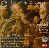 KREBS - Pélissier - Pièces pour orgue (Hautbois & Orgue) Hautbois & Orgue