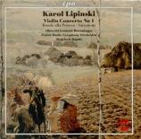LIPINSKI - Breuninger - Concerto pour violon n°1 op.14