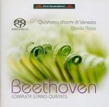 BEETHOVEN - Quartetto d'Arc - Quintette à cordes n°1 op.4
