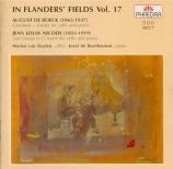 DE BOECK - Van Staalen - Sonate pour piano et violoncelle
