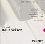 PFITZNER - Patzak - Lieder (Michael Raucheisen edition Vol.19-20) Michael Raucheisen edition Vol.19-20
