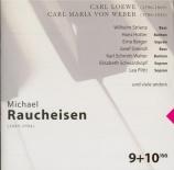 LOEWE - Greindl - Ballades (Michael Raucheisen edition Vol.9-10) Michael Raucheisen edition Vol.9-10