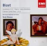 BIZET - Ozawa - Symphonie en ut majeur