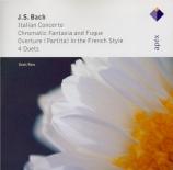 BACH - Ross - Concerto italien, pour clavier en fa majeur BWV.971