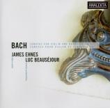 BACH - Ehnes - Sonate pour violon et clavier n°5 en fa mineur BWV.1018