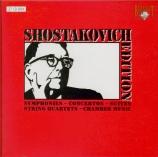 CHOSTAKOVITCH - Barshai - Symphonies (Intégrale)