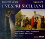 VERDI - Kleiber - I vespri siciliani, opéra en cinq actes (version 1855