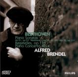BEETHOVEN - Brendel - Six bagatelles pour piano op.126