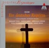 BRAHMS - Previn - Ein deutsches Requiem (Un Requiem allemand), pour soli