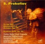 PROKOFIEV - Kondrashin - Cantate pour le 20ème anniversaire de la Révolu