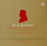 MOZART - Schmid - Divertimento pour trio à cordes en mi bémol majeur K.5