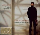 MOZART - Kavakos - Concertos pour violon (intégrale)