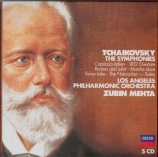 TCHAIKOVSKY - Mehta - Symphonies (intégrale)
