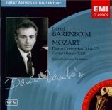 MOZART - Barenboim - Concerto pour piano et orchestre n°20 en ré mineur