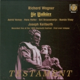 WAGNER - Keilberth - Die Walküre (La Walkyrie) WWV.86b live Bayreuth 25 - 07 - 1955