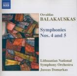 BALAKAUSKAS - Domarkas - Symphonie n°4