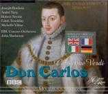 VERDI - Matheson - Don Carlos, opéra en cinq actes (version originale 18