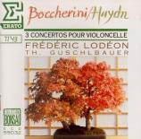 BOCCHERINI - Lodeon - Concerto pour violoncelle et orchestre n°9 en si b