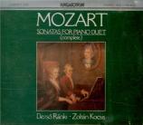 Complete Sonatas for Piano Duets