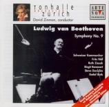 BEETHOVEN - Zinman - Symphonie n°9 op.125 'Ode à la joie'