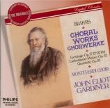 BRAHMS - Gardiner - Achtzehn Liebeslieder-Walzer, dix-huit valses pour q