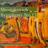 CHOSTAKOVITCH - Kofman - Symphonie n°13 op.113 'Babi-Yar'