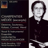 CHARPENTIER - Boulanger - Médée : extraits