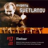 MEDTNER - Svetlanov - Sonate pour violon n°2 op.44