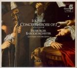 LOCATELLI - Von der Goltz - Concerto grosso en si bémol majeur op.1 n°3
