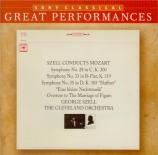 MOZART - Szell - Symphonie n°28 en do majeur K.200 (K6.189k)