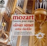 MOZART - Vernet - Andante et cinq variations pour piano (quatre mains) e
