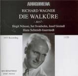 WAGNER - Schmidt-Isserst - Die Walküre WWV.86b : acte 1 (Live Hamburg) Live Hamburg