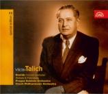 DVORAK - Talich - Dans la nature (V prírode), ouverture de concert pour