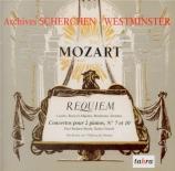 MOZART - Scherchen - Requiem pour solistes, choeur et orchestre en ré min Archives Scherchen - Westminster Vol.3