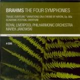 BRAHMS - Janowski - Symphonies (intégrale)