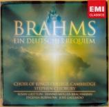 BRAHMS - Cleobury - Ein deutsches Requiem (Un Requiem allemand), pour so version de Londres