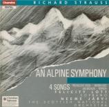 STRAUSS - Järvi - Eine Alpensinfonie, pour grand orchestre op.64